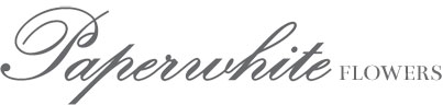 Paperwhite Flowers Logo
