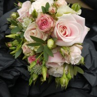 The bridesmaid's bouquet!