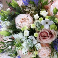 Beautiful, relaxed interesting flowers for a beautiful, relaxed, interesting bride!  . . . .