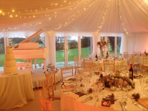 The marquee @ Priory Cottages